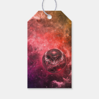 Space Station Nine Pack Of Gift Tags