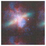 Space Telescopes Showing Stunning View Starburst Fabric