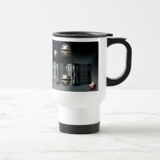Space Theme Travel Mug