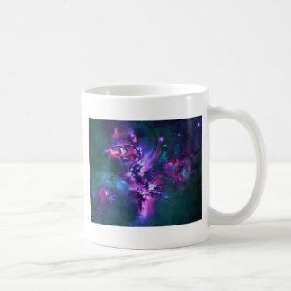 space themed coffee mug