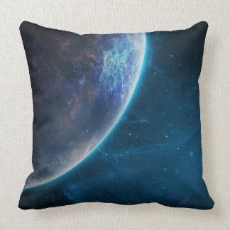 Space throw pillow. throw pillow