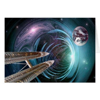 Space Travel Card