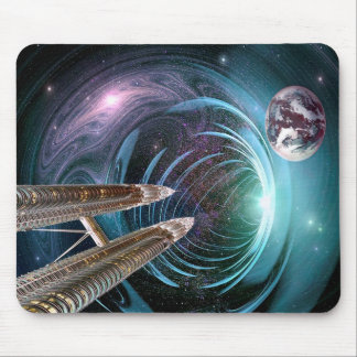 Space Travel Mouse Pad