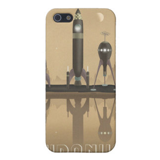 Space travel poster to uranus iPhone 5 cover