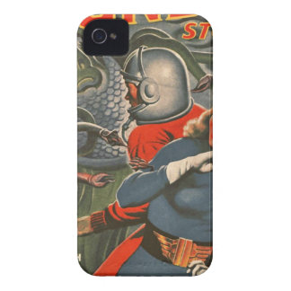 Space Travelers Attacked by Tentacle monster iPhone 4 Cover