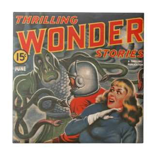 Space Travelers Attacked by Tentacle monster Tile