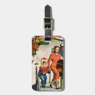 Space Traveller Luggage Tag