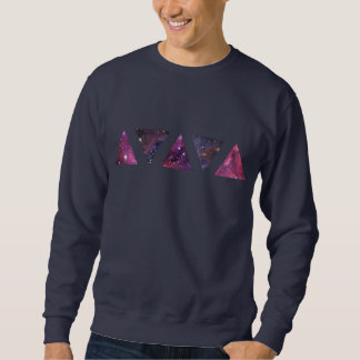 Space Triangles (Sweatshirt) Sweatshirt