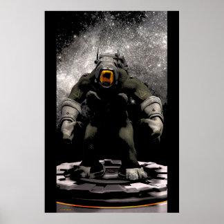 Space Troll Print