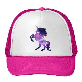 Space unicorn trucker hat