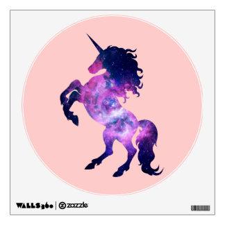 Space unicorn wall sticker