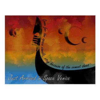 Space Venice Postcard