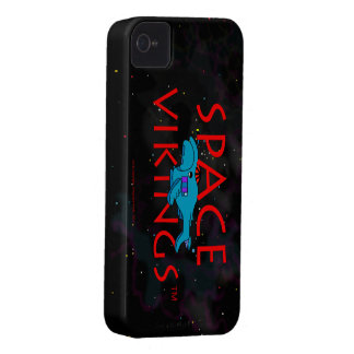 Space Vikings Title Logo w BS Surrender 2 iPhone 4 Cases