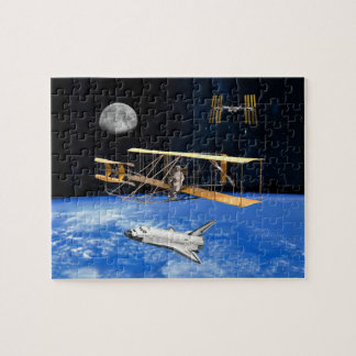 SPACE VOYAGERS JIGSAW PUZZLE