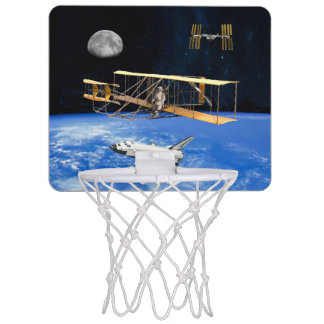SPACE VOYAGERS MINI BASKETBALL HOOP
