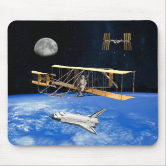 SPACE VOYAGERS MOUSE PAD