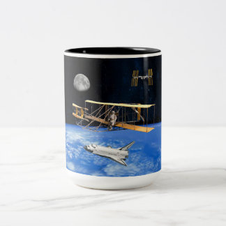 SPACE VOYAGERS Two-Tone COFFEE MUG