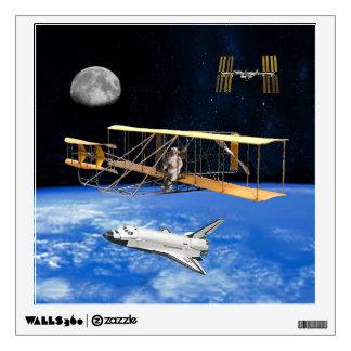 SPACE VOYAGERS WALL STICKER