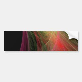 Space Wave Bumper Stickers