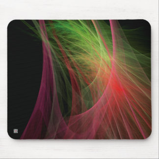 Space Wave Mouse Pad