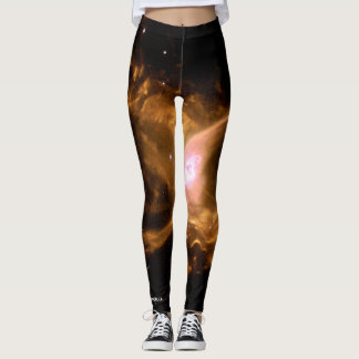 Space Wear: Red Spider Nebula Leggings