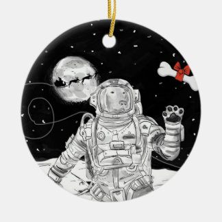 SPACE WEIM CERAMIC ORNAMENT