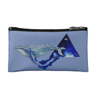 space whale cosmetics bags