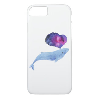 Space Whale iPhone 8/7 Case