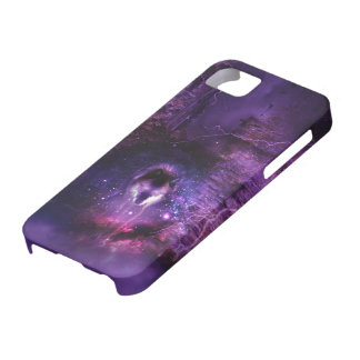 Space Wolf iPhone Case