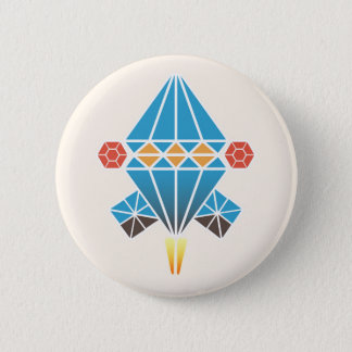 Spacecraft 2 Inch Round Button