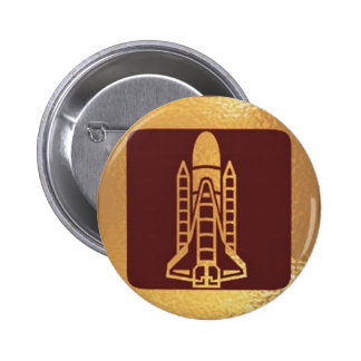 SPACECRAFT space craft 2 Inch Round Button