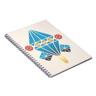 Spacecraft Spiral Notebooks