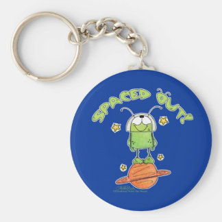 Spaced Out Alien Keychain