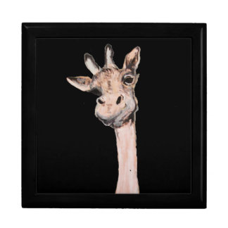 """""""Spaced-Out Giraffe"""" Jewelry Box"""