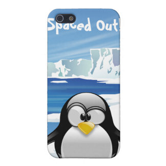 Spaced Out Penguin iPhone 5 Cases