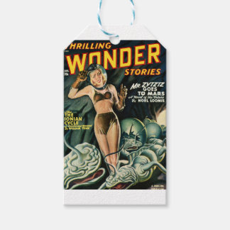 Spacegirl Fights Slime Monsters Gift Tags