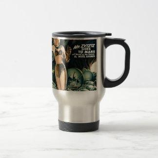 Spacegirl Fights Slime Monsters Travel Mug