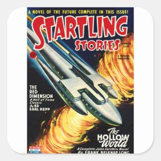 Spaceliner Square Sticker