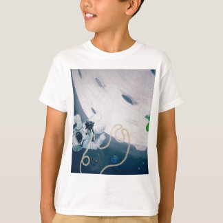 Spaceman and Moon T-Shirt