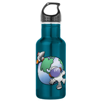 Spaceman and Planet Earth 532 Ml Water Bottle