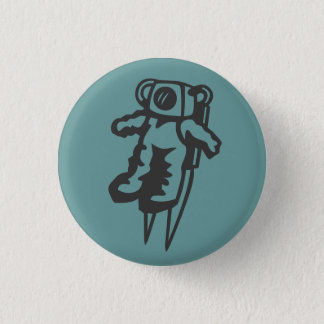 spaceman button badge