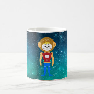 Spaceman in Outer Space Coffee Mug