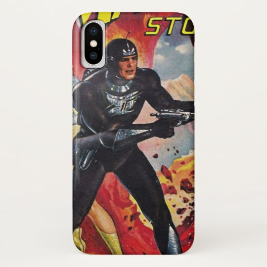 Spaceman with Two Rayguns Galaxy Nexus Cover