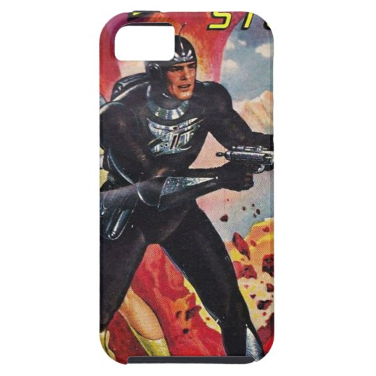 Spaceman with Two Rayguns iPhone 5 Case