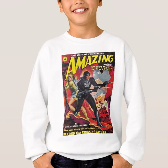 Spaceman with Two Rayguns Sweatshirt