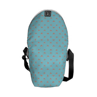 Spaceship Cartoon Pattern Drawing Commuter Bag