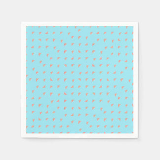 Spaceship Cartoon Pattern Drawing Disposable Napkins