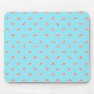 Spaceship Cartoon Pattern Drawing Mouse Pad