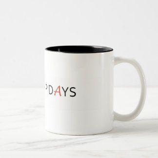 SPACESHIP DAYS mug