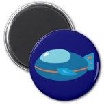 Spaceship Fridge Magnets